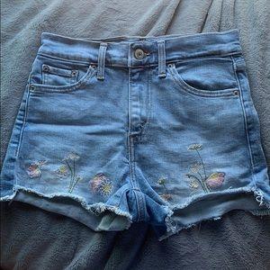 Levi's Hugh Waisted Shorts
